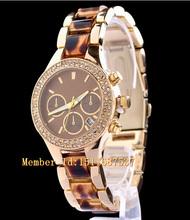 Relogio Feminino 2015 moda marca de lujo oro rosa para Mujer Mulher vestido de cuarzo Reloj de pulsera Reloj Mujer