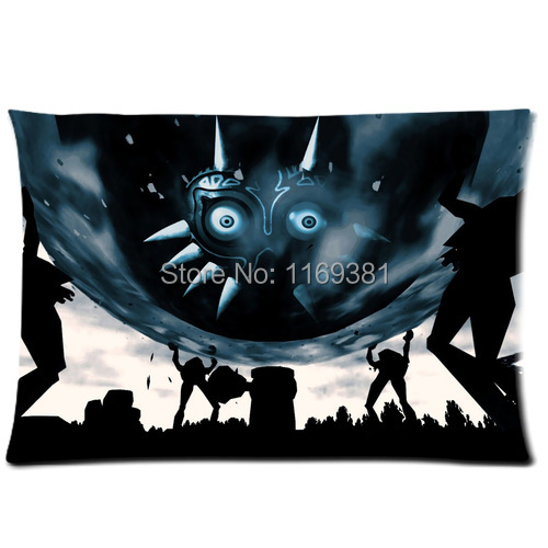 Free Shipping,Legend of Zelda Custom Rectangle Pillow Cases 20x30 (one side)-pc954