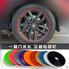 Buy 8meter Car Wheel Trim Alloy Wheel Arch Protector Rim Guard Adhesive Roll Car Styling EMGRAND EC7 EC7-RV EC8 for $8.44 in AliExpress store