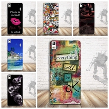 Colorful 3D Releif Painted Soft TPU Back Phone Cover For Lenovo A7000 Cases K3 Note 5.5 Silicon Shell Case for Lenovo K3 Note