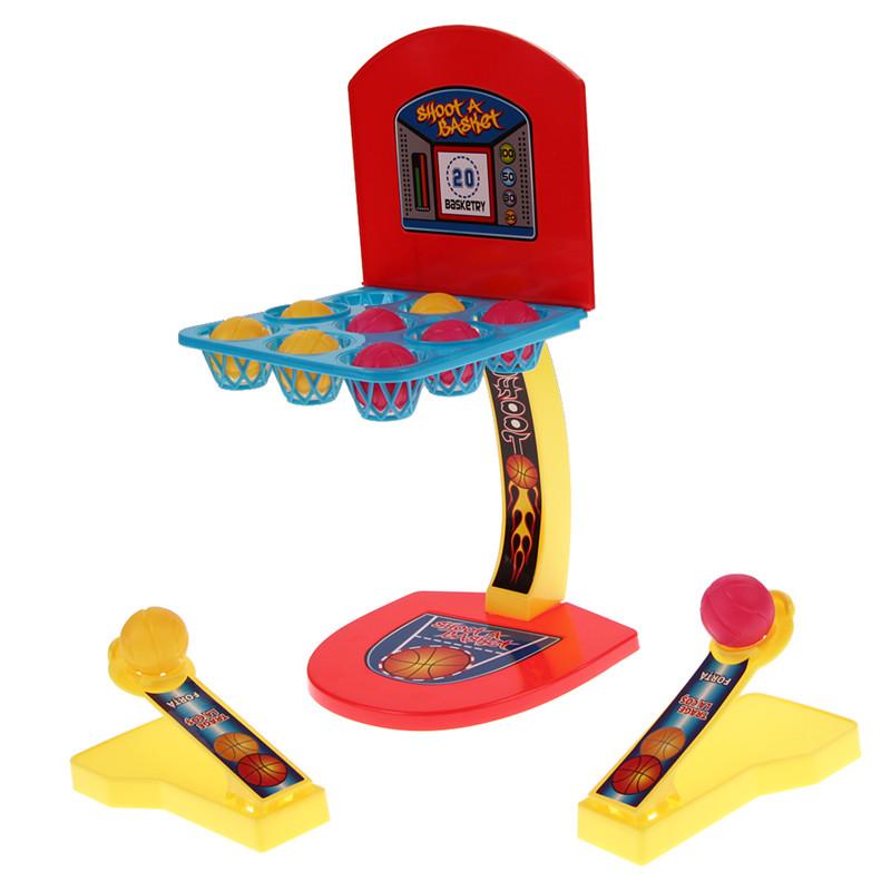 Parent-child Interaction Desktop Basketball Game Educational Outdoor Toys Soft Miniature Basketball Shooting Game(China (Mainland))