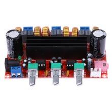 Buy New Arrival 2x50W Digital Power Amplifier Board 100W 12-24V 2.1 Channel Digital Subwoofer Power Amplifier Board TPA3116D2 for $10.05 in AliExpress store