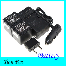 Горячая 2 шт. VW-VBN260 VW VBN260 VWVBN260 аккумуляторная камера аккумулятор + зарядное устройство для Panasonic HDC-SD1 PV-GS80 SDR-H200