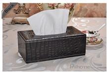 Европейский стиль элегантный королевский для крокодил бумаги автотентами полотенца в в форме сердца бытовые ткани коробка