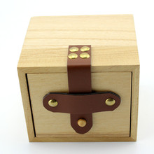 Gift Watch Box Solid Wooden Box Top Quality Square Jewelry Set Storage Box Jewelry Box Wood Colors Avaliable(China (Mainland))