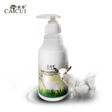 Goat milk nourishing body lotion 300ml skin whitening exfoliation body cream After-sun repair anti-aging body whitening cream(China (Mainland))