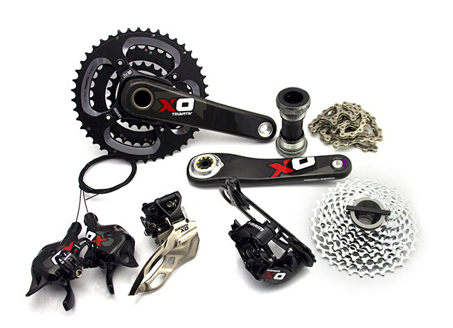 SRAM XO groupset 3x10s 30 speed group set mountain bicycle groupsets(China (Mainland))