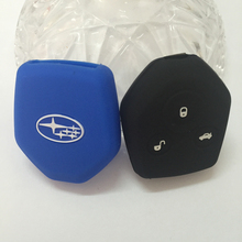 Silicone Car Key Cover For Subaru Forester Outback SUBARU XV Legacy Etc High quality key case
