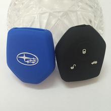 Силиконовый чехол ключи от машины SUBARU Forester глубинке SUBARU XV наследие и т . д . высокое качество ключ чехол кожаный брелок