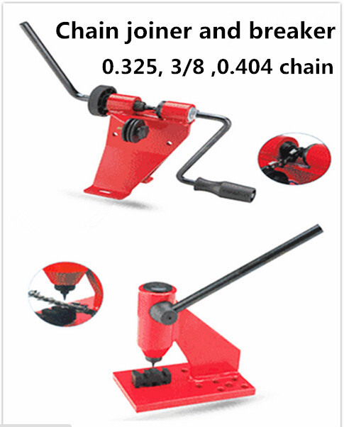 Professional chainsaw chain joiner and breaker chainsaw parts use for Oregon Calton 325 3/8 404 chainsaw chain(China (Mainland))