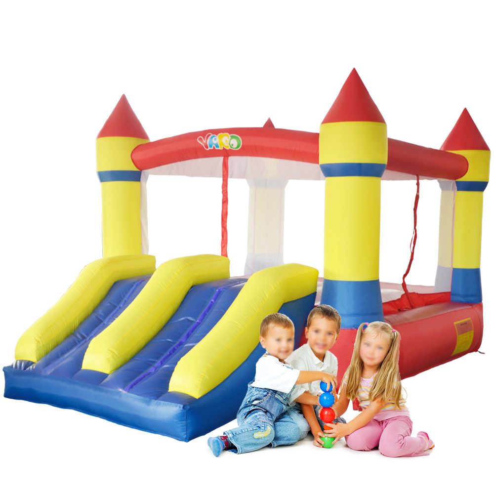 YARD Bounce House Dual Slide Mini Bouncy Castle for Kids Inflatable Jumpers Special Offer for Hot Zone(China (Mainland))