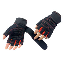 Strong Gym Fitness Gloves Power Luvas Fitness Academia Anti-skid Guantes Protective Crossfit Gym Gloves Weight Lifting for Sport(China (Mainland))
