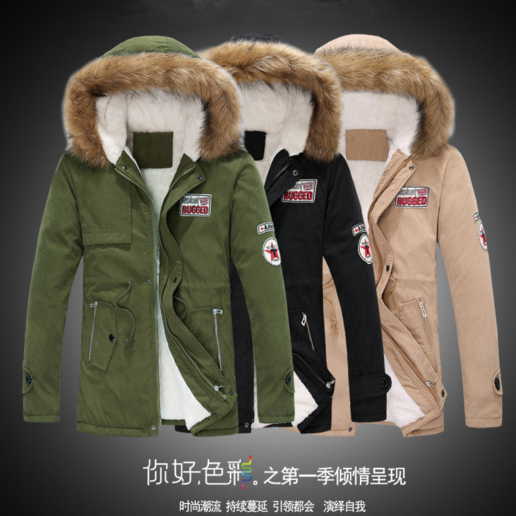 NEW 2015 hot Winter Men s Clothes napapijri Jackets Plus Size Cotton Mens Jacket Man Coatg