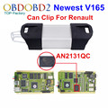 Full Chip For Renault Can Clip V165 OBD2 Diagnostic Tool With 15 Languages Can Clip For