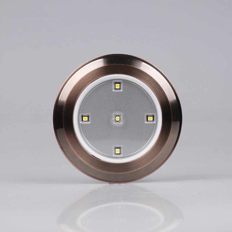 5led led cabinet light closet touch pat lamp night lighting battery emergency lamp(China (Mainland))