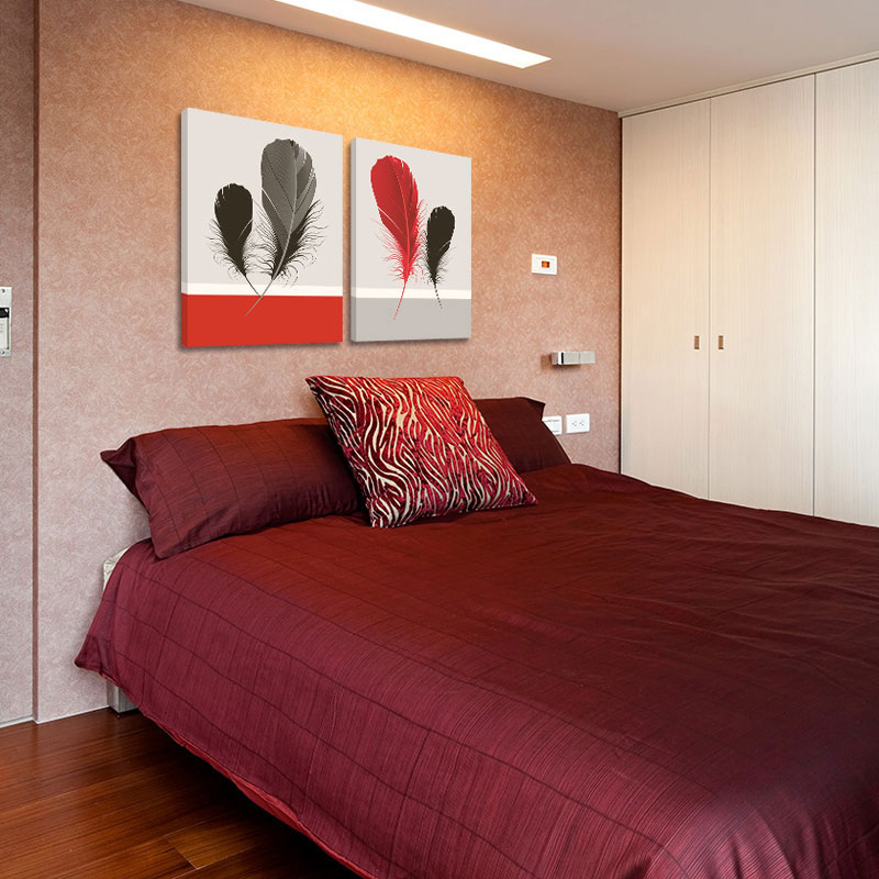 Piuma rossa pittura acquista a poco prezzo piuma rossa pittura ...