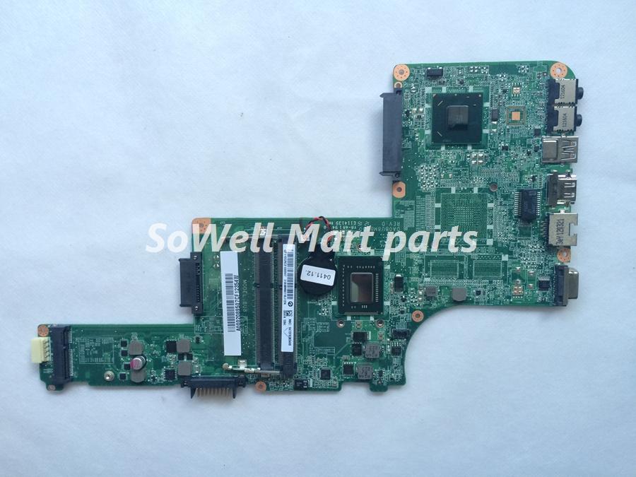 Original mother board for Toshiba L800 L830 L835 laptop A000208950 HM76 DA0BU8MB8D0 REV:D i3-2377M processor(China (Mainland))