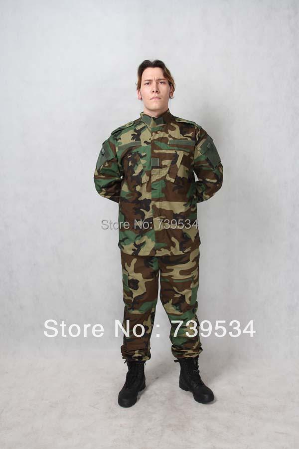 Manufacturer &Supplier ACU jungle ,woodland camouflage suit ( jacket &pants), - Online Store 739534 store