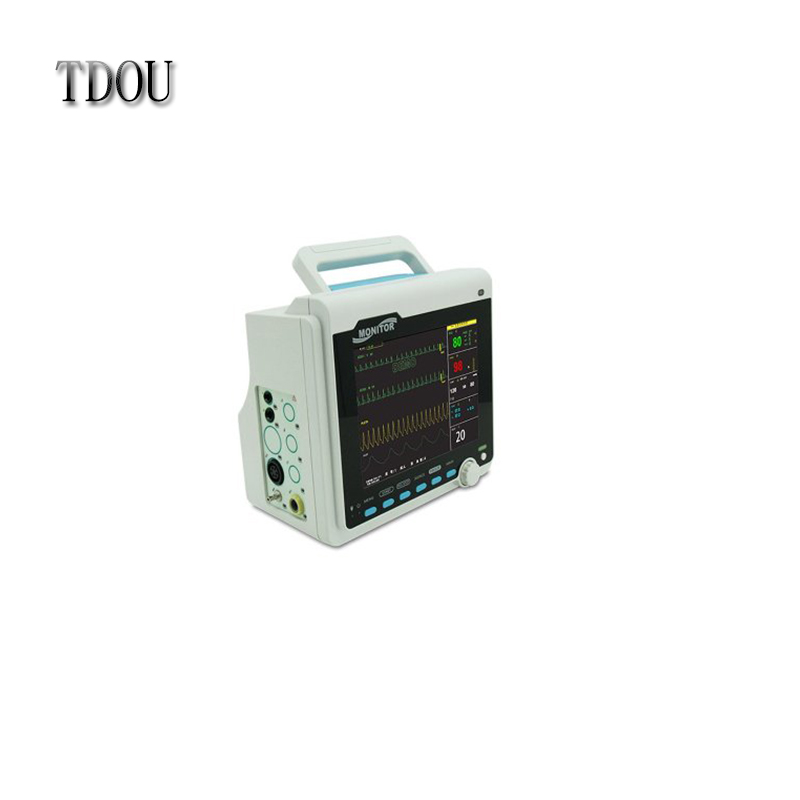 TDOU CMS6000A NEW 4 Parameters 8.4-inch ICU Patient Monitor ECG+NIBP+SPO2 Free Shipping