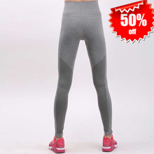 Buy 2017 Women Gymming High Waist Quick Dry Workout Pro Compression Legging Bodybuilding Sporting Runs Fitness Female Yogaing Pants for $6.86 in AliExpress store