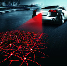 Предотвращения столкновений автомобилей лазерный хвост 12 В из светодиодов противотуманные фары автоматического торможения парковка автомобилей — стайлинг сигнальные лампы стайлинга автомобилей аксессуары для форда