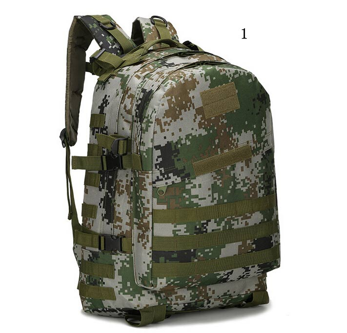 2016 Outdoor Sports 3D Tactical Backpack Ribbon Digital 600D Oxford Military Enthusiasts Camping Equipment Bag Free Shipping(China (Mainland))