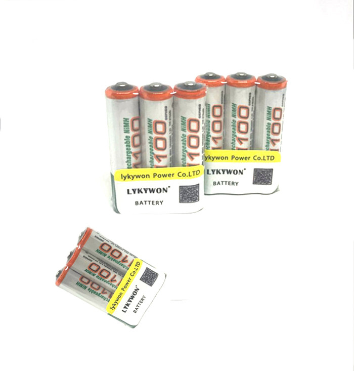 8pcs/lot original GP aaa rechargeable battery 1100mah / gp 1100 / rechargeable battery gp batteries 1.2V Ni-MH + Free shipping(China (Mainland))