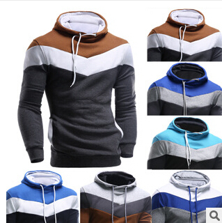 2015 Fashion New Contract Color Hoodies Sweatshirts Men,Outerwear Colorful Hoodies Clothing Men,Sports Suit(China (Mainland))