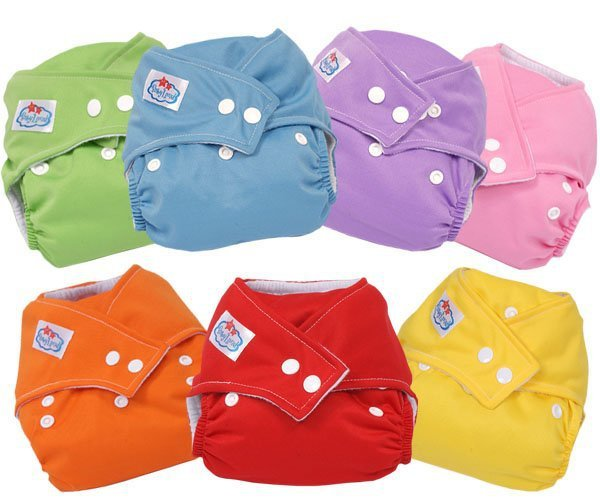 free shipping  Adjustable Baby washable baby cloth diaper nappy urine pants 7COLORS free shipping