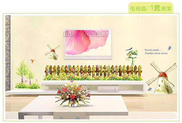 Diy abnehmbaren fernseher im wohnzimmer kindergarten for Kinderzimmer zaun