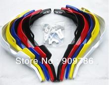 Free shipping !! ATV Handguards, motocross Gauntlets ,7 colors Motorcycle Handguards Handlebar Brush Guards For KTM motocycles(China (Mainland))