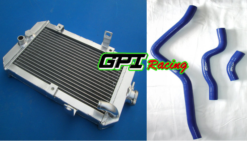 ATV aluminum radiator and hose for Yamaha 660R/Raptor 660 YFM660R 01-05 2005 2003 2004 2002 2001(China (Mainland))