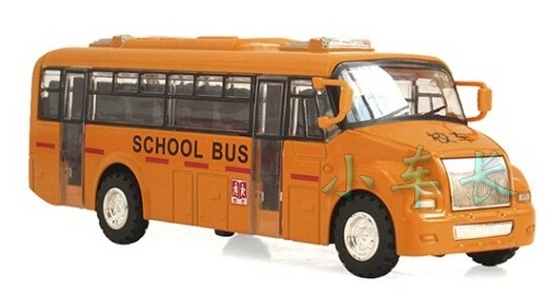 2015 School Bus Brinquedos Toys For Kids Alloy Car Kids Toys For Children'S Toy Car Model Automotivo Big Nose School Bus(China (Mainland))
