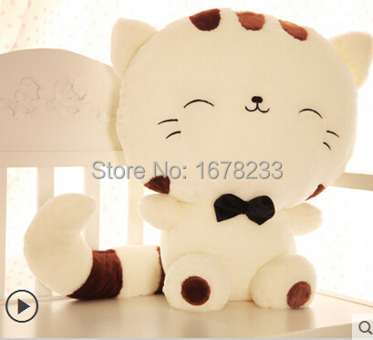 Cute Big Cat Plush Toy Pillow : Aliexpress.com : Buy 20cm Cute dolls big cat face pillow plush toy doll lovers Valentine s Day ...