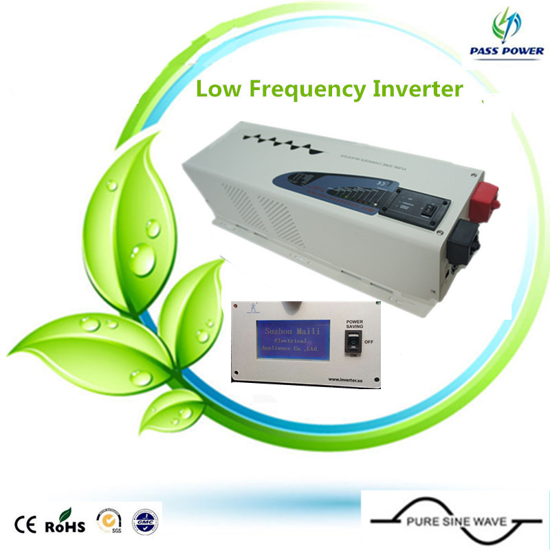 2016 low frequency power inverter 5000w inverter 24vdc to 220vac transformer inverter off-grid pure sine waveform(China (Mainland))