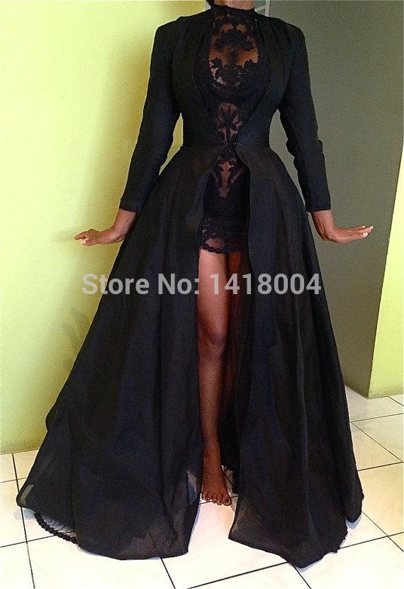 Evening dress black jackets