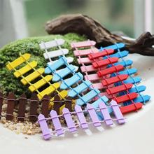 Mini World 20PCs Micro Landscape Ornaments DIY Simulation Flexible Flower Fence #69816(China (Mainland))