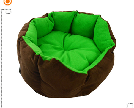 Winter warm cashmere kennel small dog bed pet mat cat litter cotton nest free shipping(China (Mainland))