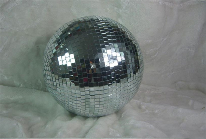 D30cm reflection stage laser light reflective mirror ball bars KTV Party Stage Live Event Porformance glass disco balls lighting(China (Mainland))