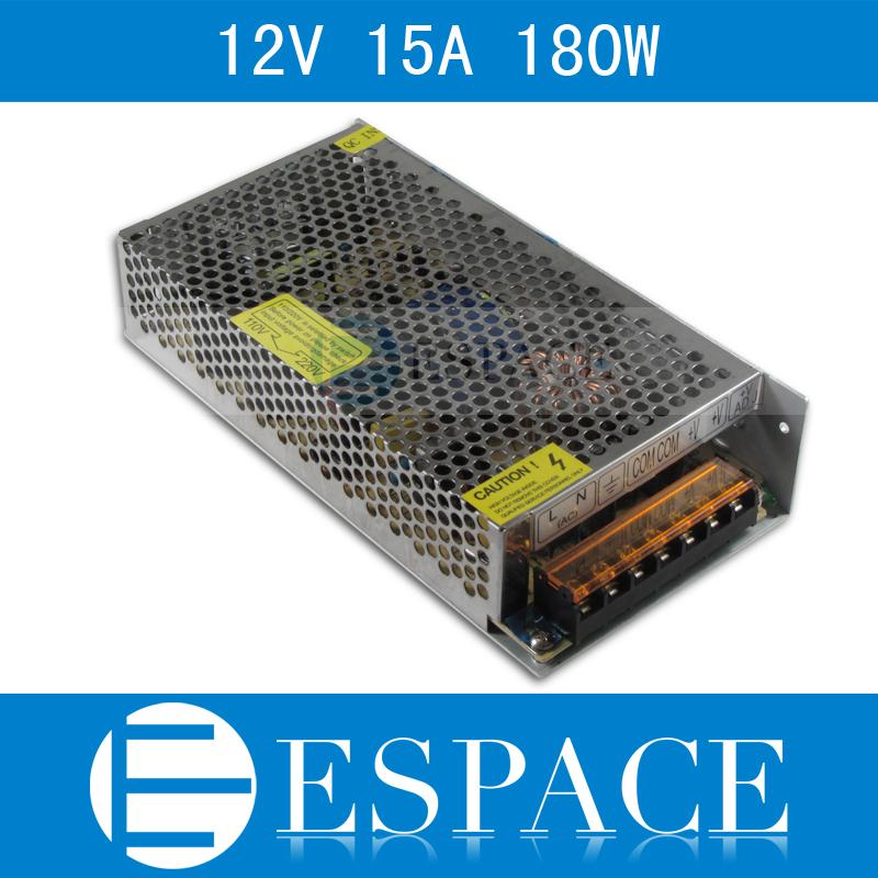 Импульсный блок питания Espace 12V 15 180 AC 100/240v DC 12V E-180-12