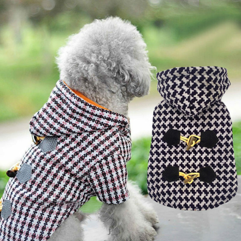 Sale Luxury Small Pet Dog Clothes Warm Clothing For Cats Puppy Yorkshire Chihuahua Jacket Coat Ski Parka With Leash Hole(China (Mainland))