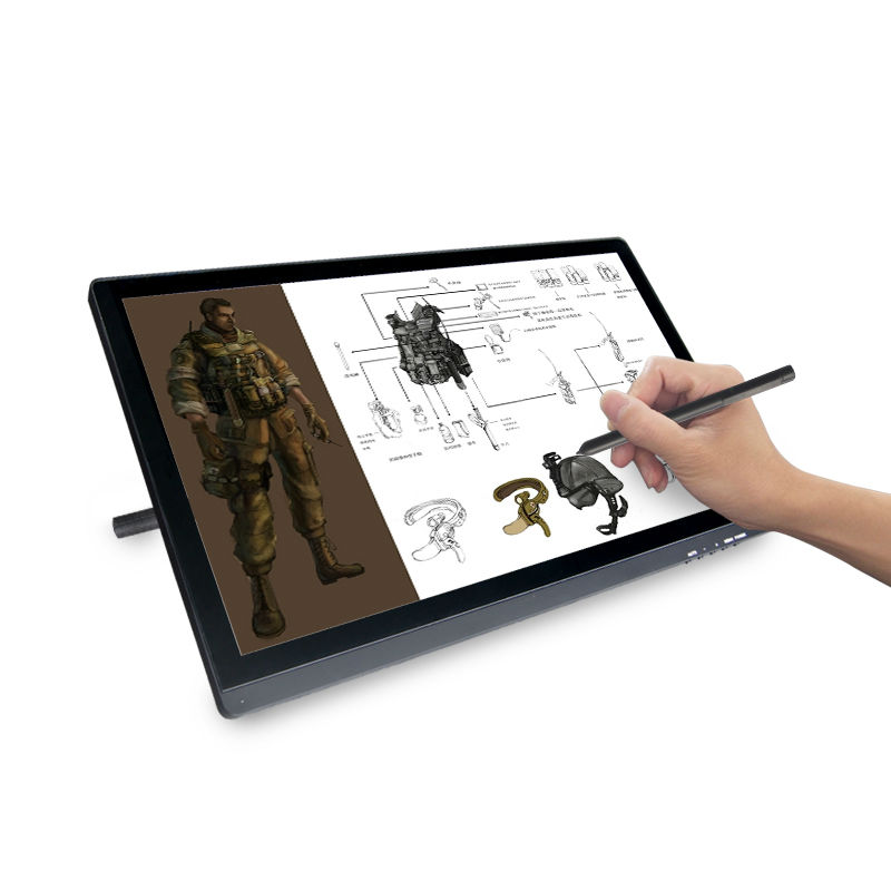 Bosstouch A220B 22Inch DigitalTablet IPS LEDmonitor USB HDMI Interface 1920*1080P HD ArtGraphic Drawing 5080LPI Glove As gift