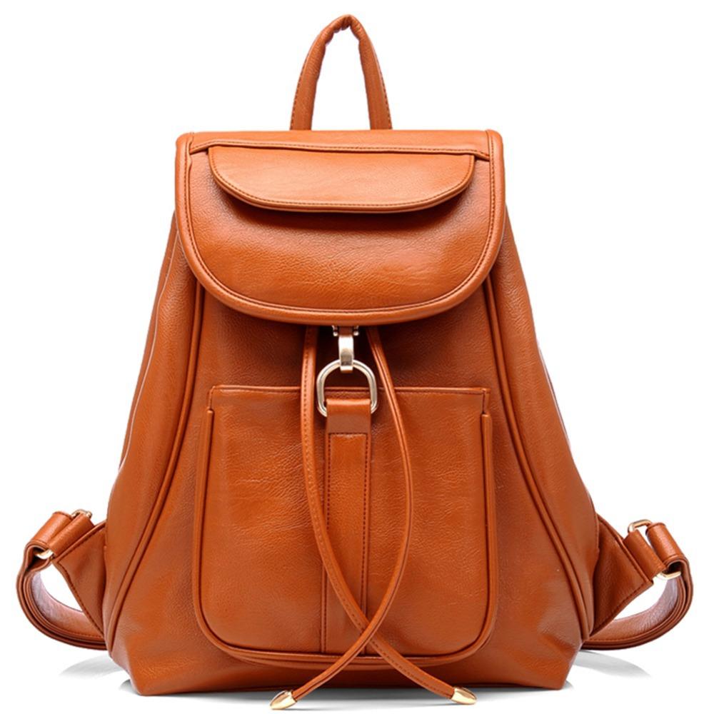 Leather Handbag Backpack | Crazy Backpacks
