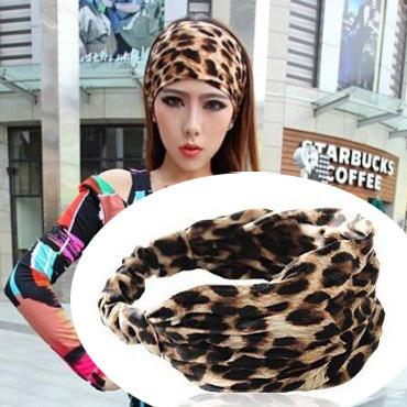 3pcs/lot 2015 new fashion chiffon silk fabric women's headband Elastic hair band headwrap 6 colors