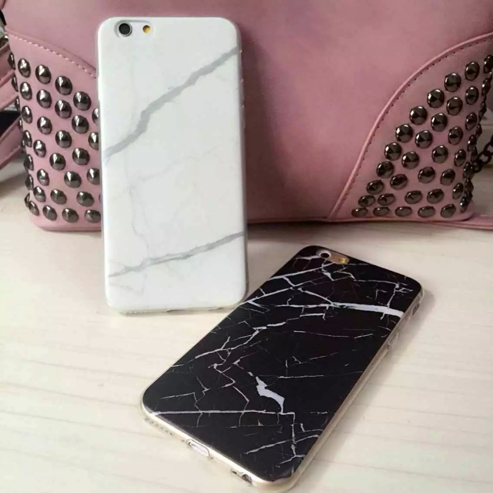 Marble Nail Polish Phone Case: New Design Marble Crack Print Phone Cases For IPhone 6