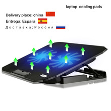 Laptop Cooling Pads USB interface stand for laptop cooler notebook stand laptop cooling pad radiator Two big fan High quality