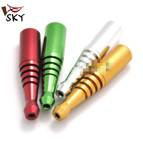 SKY Reggae 5pc lot 6 7cmx1 2cm portable mini metal weed smoking pipe weed pipe