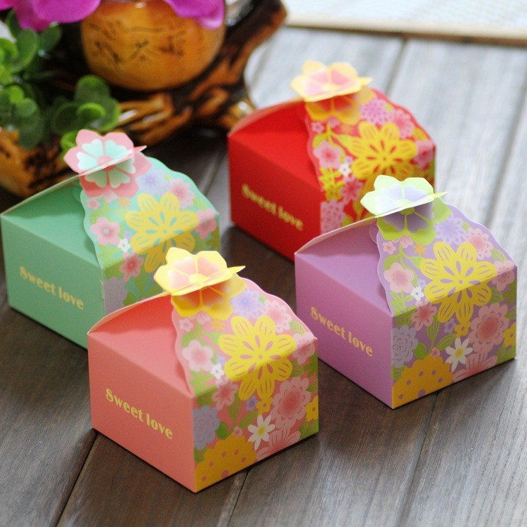Buy favor basket candy paper box small for Application box decoration