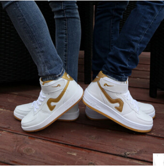SIZE 35-44 2015 Hot sale Men&women Crazy White Air One 1 07 Low High Shoes,Cheap Force Sneakers Sale Airline running shoes(China (Mainland))