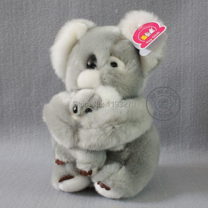 stuffed animal 20 cm plush koala bear toy Toy Club mother& child koala bear doll gift w3162(China (Mainland))